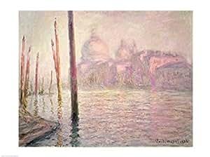Claude Monet – Vista de Venecia Artistica di Stampa (60,96 x 45,72 cm)