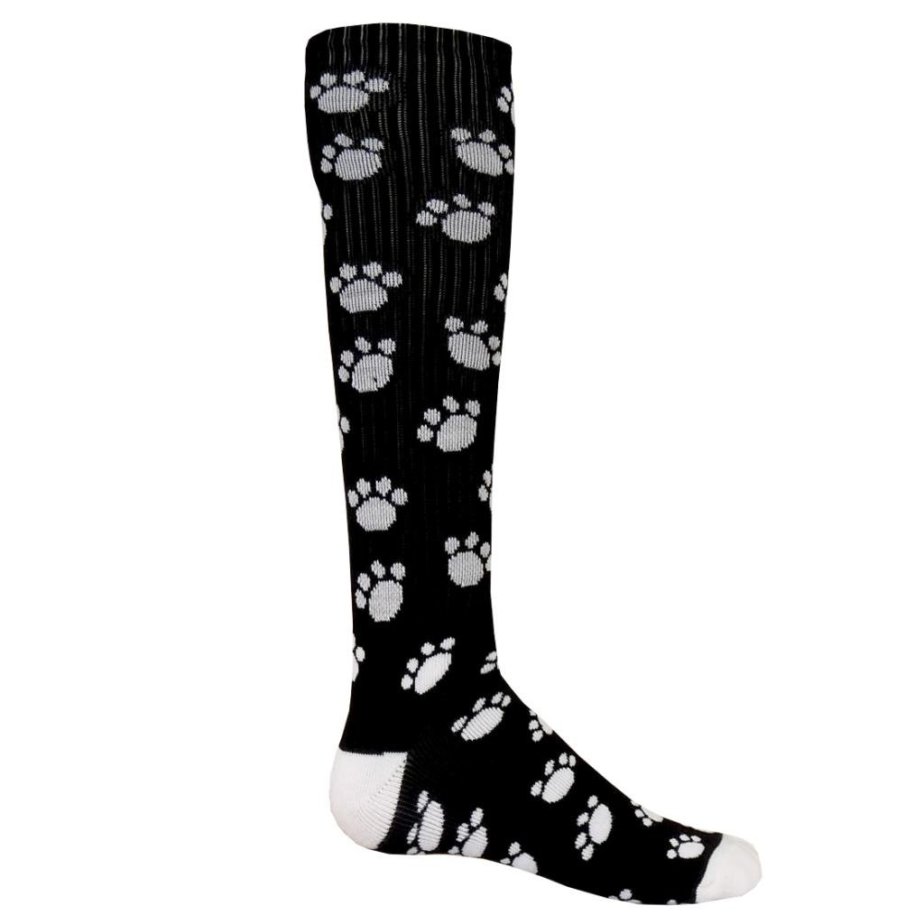 Red Lion ''Happy Paws Print Women's Athletic Socks (Size 9-1