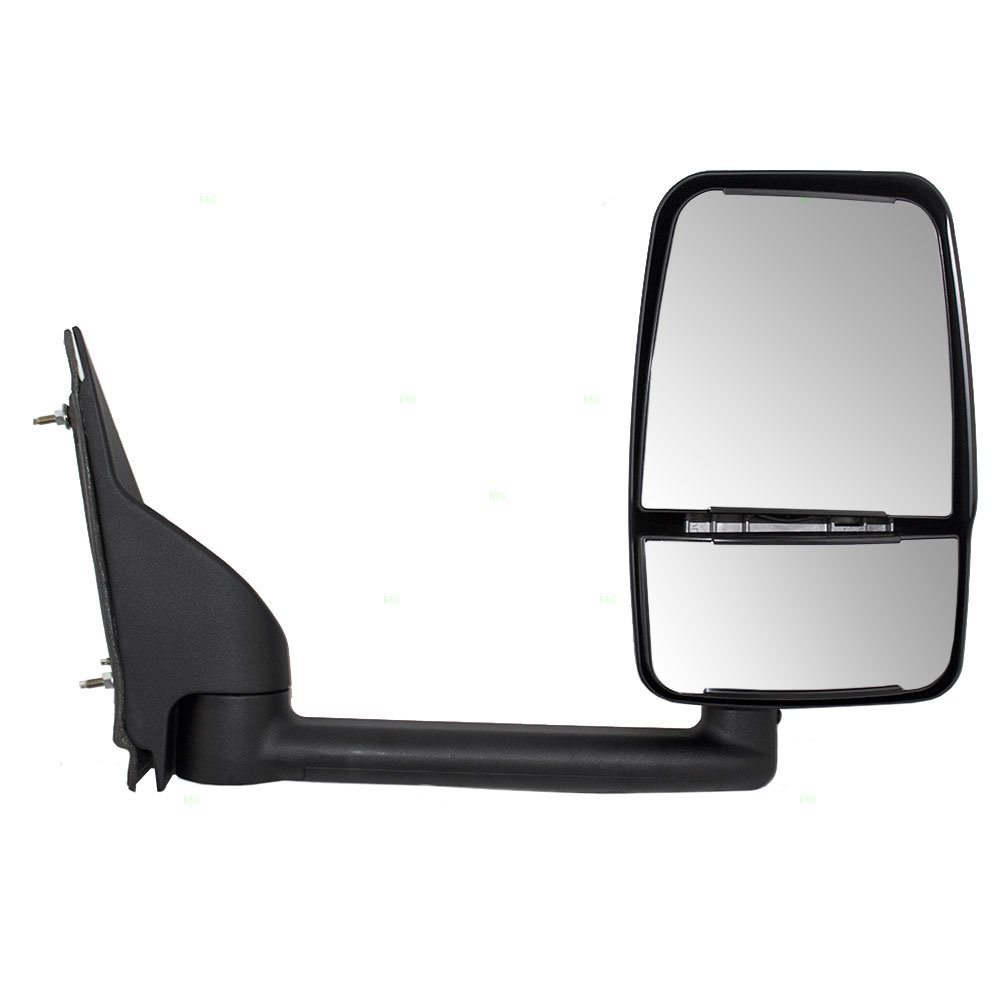 Amazon com passengers manual side view paddle type dual glass mirror replacement for chevrolet gmc van 25894030 automotive