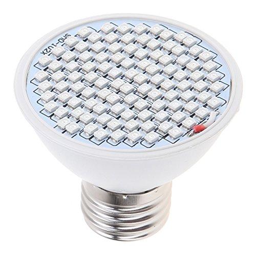Rrimin Aluminium Full Spectrum Plant Lamp(White, 65x65x60mm)