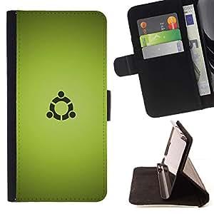 Momo Phone Case / Flip Funda de Cuero Case Cover - Portal sesión;;;;;;;; - Samsung Galaxy E5 E500