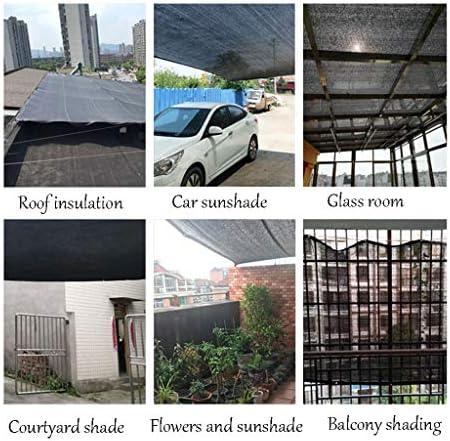 シェードネット シェードクロス、ブラックサンブロックシェードサンメッシュ、グロメット付き庭の花植物用UV耐性ネット (Size : 2x6m)