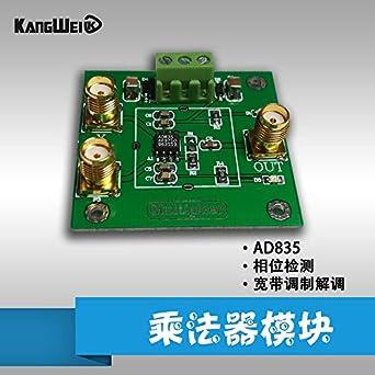 Diybigworld AD835 analog multiplier module signal conditioning phase