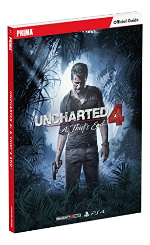 Price comparison product image Uncharted 4: A Thief's End Standard Edition Strategy Guide