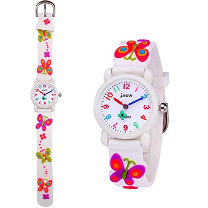 Watches Kids Watches Child Time Learning Toys Flower Cute Children Watches Cartoon Silicone Digital Wristwatch Boys Girls Wrist Watches