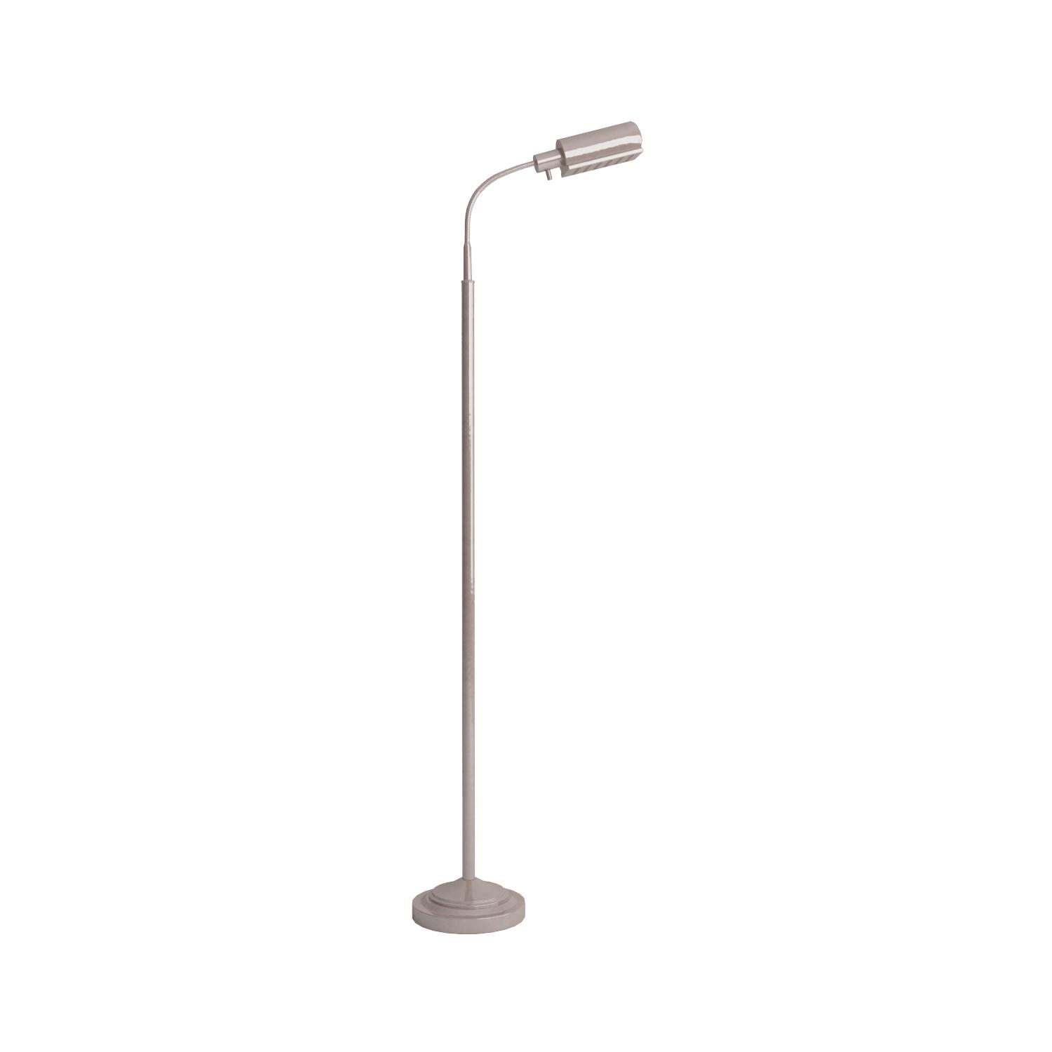 Simpla daylight 24 402051 15 cordless floor lamp brushed nickel daylight24