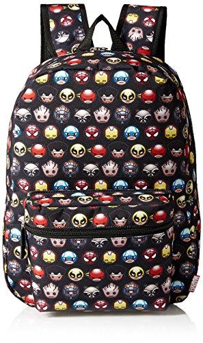 Marvel Avengers Emoji Children's Backpack, Black (Avengers Children)