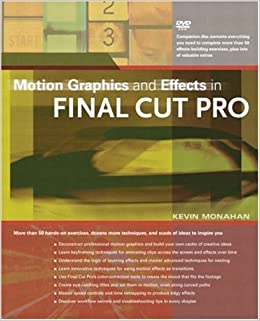 Book Motion Graphics and Effects in Final Cut Pro