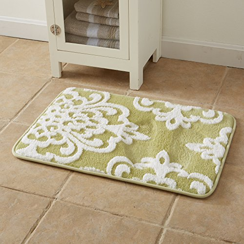 Free shipping peyton collection plush memory foam anti for International decor bath rugs