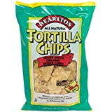 Bearitos White Corn Tortilla Chips, 16 Ounce (Pack of 12)