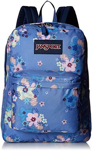- JanSport JS00T50148S Superbreak Backpack, Artist Floral