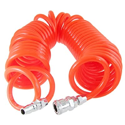 6M 19 Ft 10mm x 6.5mm Flexible Recoil Hose for Compressor Air Tool