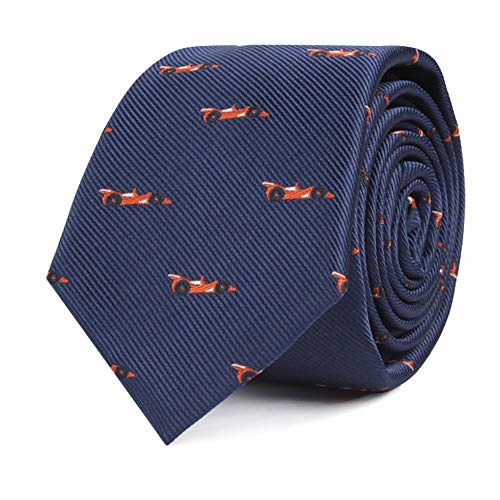 (Racing Car Fan Tie for Men Race Car Neckties for Him | Nazcar F1 Fan Race | Work Ties for Him | Bday Gift for Guys (Racing Car))