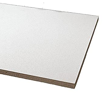 Amazoncom Acoustical Ceiling Tile X Thickness PK - Armstrong cleanroom ceiling tiles