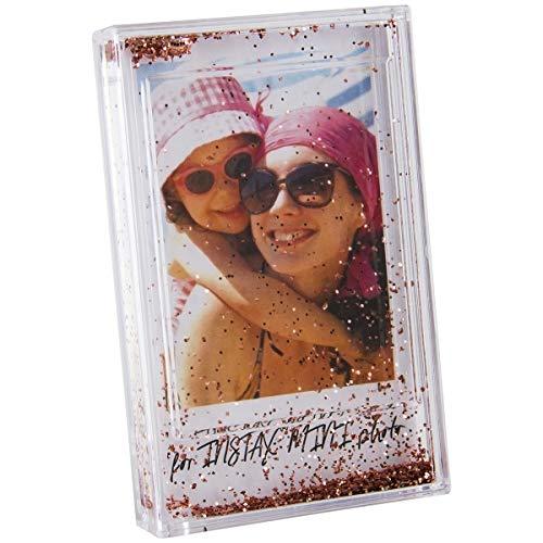 Instax Mini Glitter Frame w/Easel  - Rose Gold ()