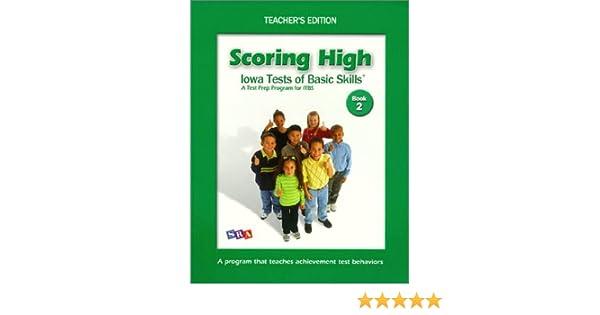 Scoring High On ITBS Teacher Edition Grade 2 WrightGroup