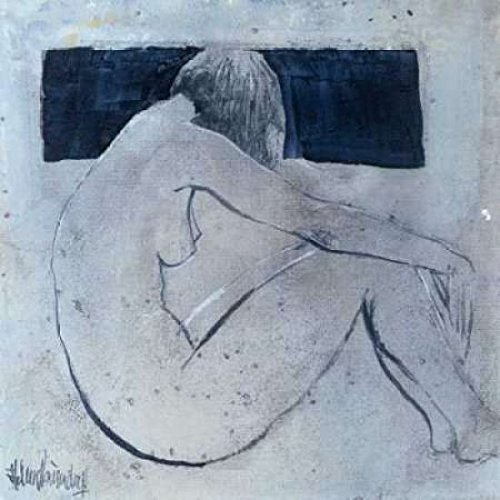 Studies from the nude II Poster Print by Heleen Vriesendorp (24 x 24)