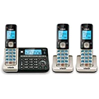 VTech DS6751-3 Connect to Cell™ Answering System with Dual Caller ID/Call Waiting, 3 handsets