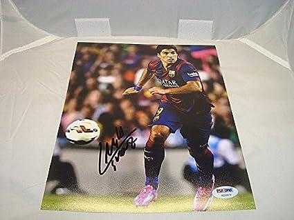 Image Unavailable. Image not available for. Color  Luis Suarez Signed ... 93ce597ff