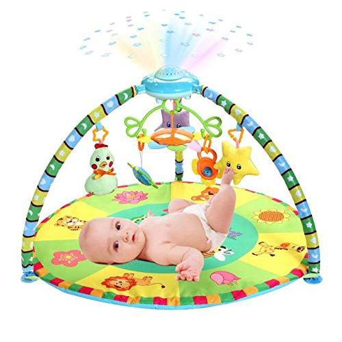 AIBAB 0-36 Monate Musik Spiel Decke Pad Baby Sterne Projektion Spiel Decke Pad Kriechen Decke Pad Spielzeug Entwicklung Brainpower B07G85HW7X Spiel- & Krabbeldecken, Spielbögen Elegantes Aussehen   Online Outlet Store