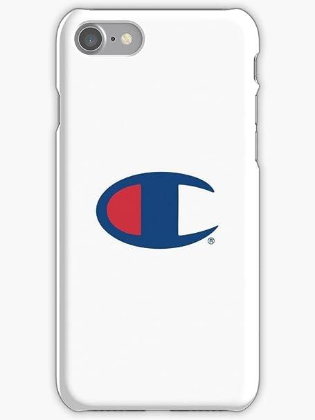 Big Champion Logo Su Sfondo Bianco In Plastica Rigida Per Apple