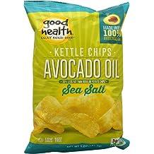 Good Health Inc. Kettle Style Avocado Oil Potato Chips Sea Salt -- 5 oz - 2 pc