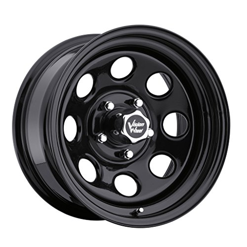 Vision 85 Soft 8 Black Wheel with Painted Finish