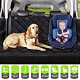 COSMOPLUS Dog Car Seat Covers Pet Seat Covers For Cars,Dog Car Hammock & Bench Convertible,Quilted,Padded,Waterproof,Scratch Proof,Nonslip,Universal Fit Review