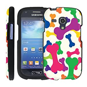 (Color Bone) Design Shell Cover Case for Samsung Galaxy S III (S3) Mini by ManiaGear