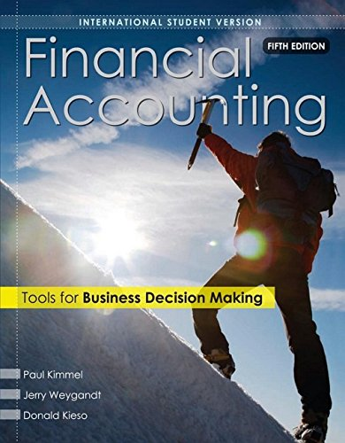 financial accounting tools for business decisions He is a member of the american accounting association and has published articles in accounting review, accounting horizons, advances in management accounting, managerial finance, issues in accounting education, journal of accounting education, and more.