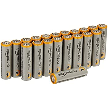 Amazon.com: AmazonBasics AA Performance Alkaline Batteries
