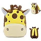 "Baby Boys Girls Kids Kindergaten Toddler Children Backpack Cute Cartoon Animal Toddler School Bag Shoulder Bags (G, 26.5CM/10.4"" 24CM/9.4"" 10.5CM/4.1"")"