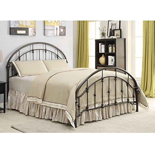 Asian Bedroom Headboard (Coaster 300407KE Home Furnishings Bed, Eastern King, Bronze)