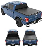 Bestop 18113-01 ZipRail Tonneau Cover for 2004-2018 Ford F-150 Crew Cab/Super Cab Styleside (except Heritage model), 5.5' bed