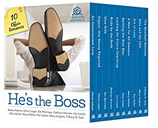 book cover of He\'s the Boss