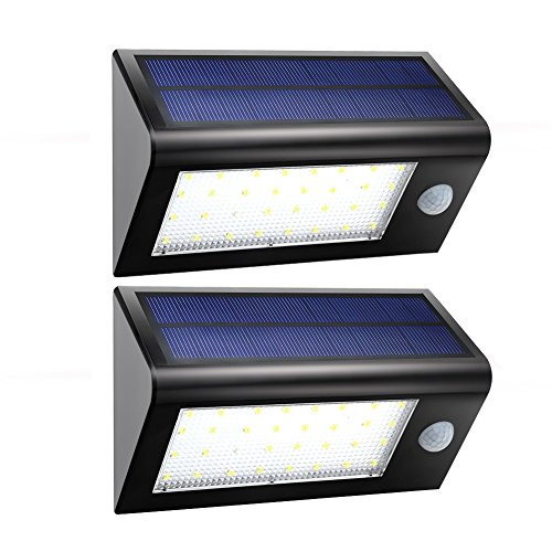Solar Lights,URPOWER Super Bright 32 LED Solar Powered Lights Outdoor Garden - Waterproof - Motion Sensor Security...