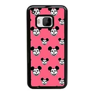Plastic Cases HTC One M9 Cell Phone Case Black Minnie Mouse Xlccr Generic Design Back Case Cover