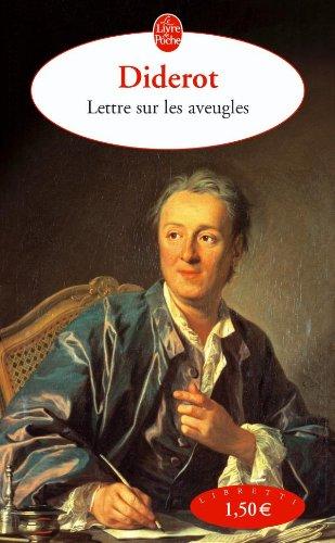 Lettre Sur Les Aveugles (Ldp Libretti) (French Edition)