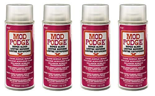 Mod Podge Acrylic Sealer (11-Ounce), 1450 Super Gloss (Fоur Paсk) by Mod Podge (Image #6)