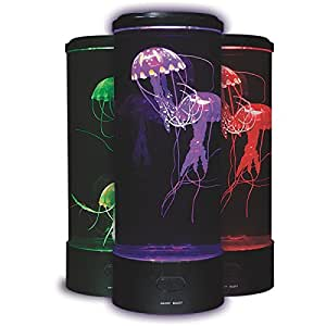 Amazon Com Fascinations Led Fantasy Jellyfish Lamp Round