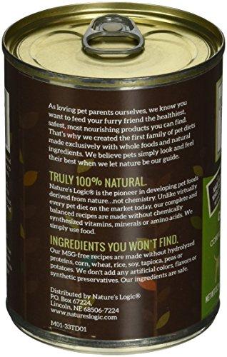 Image of Nature'S Logic Turkey Canned Dog Food (Case Of 12), 12/13.2 Oz/One Size