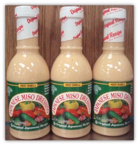 Red Shell Miso Dressing 12 Fl. oz. (Pack of ()