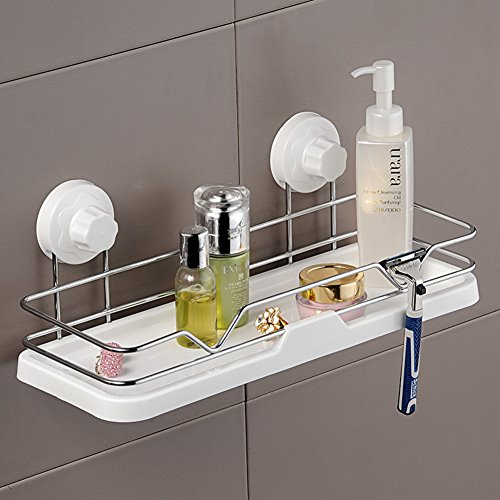 Powerful cupule bathroom iron storage basket/Storage shelf / drain/ storage box shelf high-quality