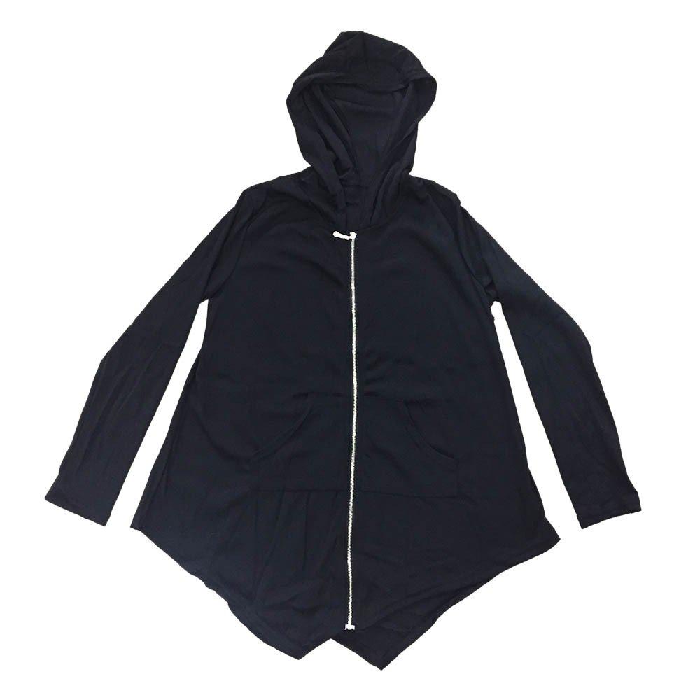 VANSOON Womens Tops Long Sleeve Tunic Zipper Outwear, Loose Cardigan Ladies Zipper Outwear Coat Jacket