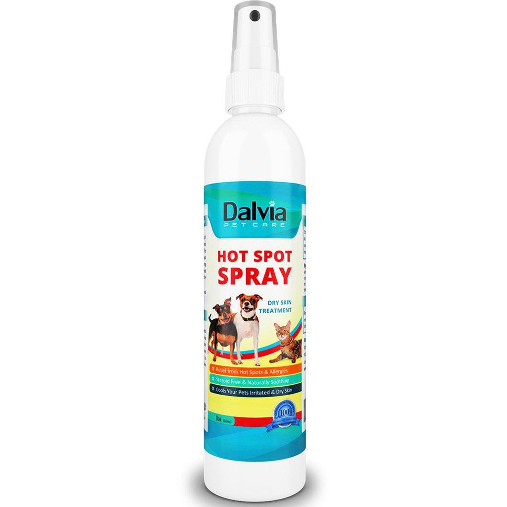 Dalvia Pet Care Antifungal Hot Spot Spray, (8oz/240ml), for Dogs