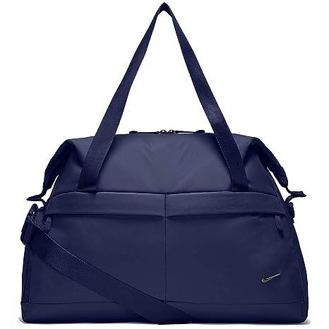 Bolso de entrenamiento Nike Legend Club para mujer, color azul binario / azul binario / negro, Talla MISC