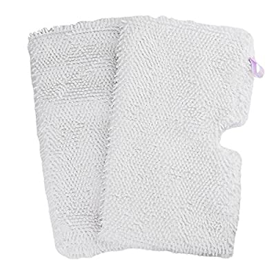 Flammi 2-4 Pack Replacement Microfiber Steam Mop Cleaning Pads Fits Shark Steam Pocket Mops S3500 Series S3501 S3601 S3550 S3901 S3801 SE450 S3801CO S3601D