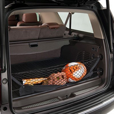 Envelope Style Trunk Cargo Net for Cadillac Escalade Escalade ESV 2015 2016 2017 2018 2019