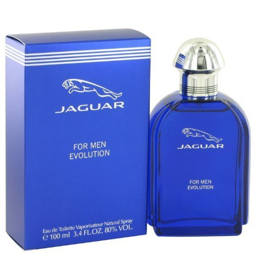 Jaguar Evolution by Jaguar Men's Eau De Toilette Spray 3.4 oz - 100% Authentic