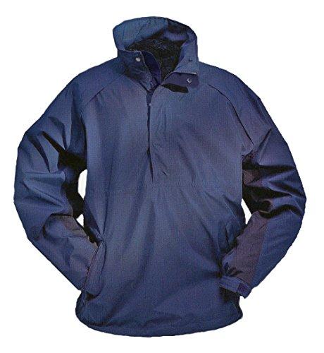 e-tex Half-zip Pullover Jacket - S - Navy (Storm Fit Half Zip)